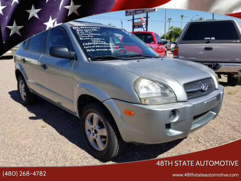 2006 Hyundai Tucson for sale at 48TH STATE AUTOMOTIVE in Mesa AZ