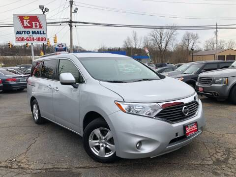2016 Nissan Quest for sale at KB Auto Mall LLC in Akron OH