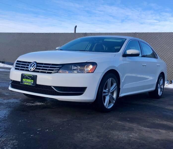 2014 Volkswagen Passat for sale at Motorsota in Becker MN