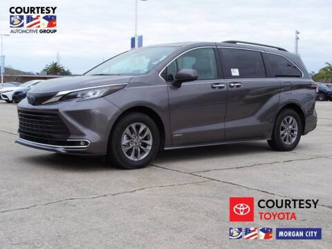 2021 Toyota Sienna for sale at Courtesy Toyota & Ford in Morgan City LA