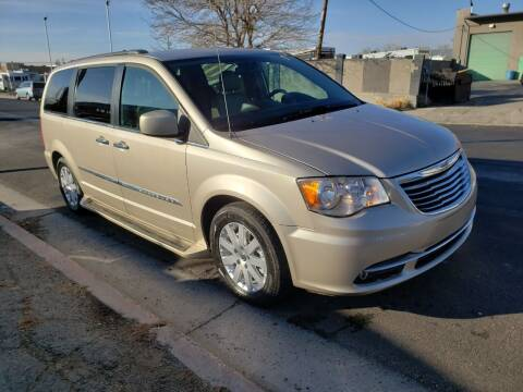 2015 Chrysler Town and Country for sale at High Line Auto Sales in Salt Lake City UT