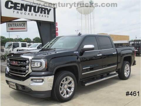 2018 GMC Sierra 1500 for sale at CENTURY TRUCKS & VANS in Grand Prairie TX