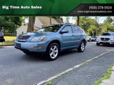 2007 Lexus RX 350 for sale at Big Time Auto Sales in Vauxhall NJ