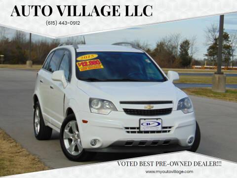 2015 Chevrolet Captiva Sport for sale at AUTO VILLAGE LLC in Lebanon TN