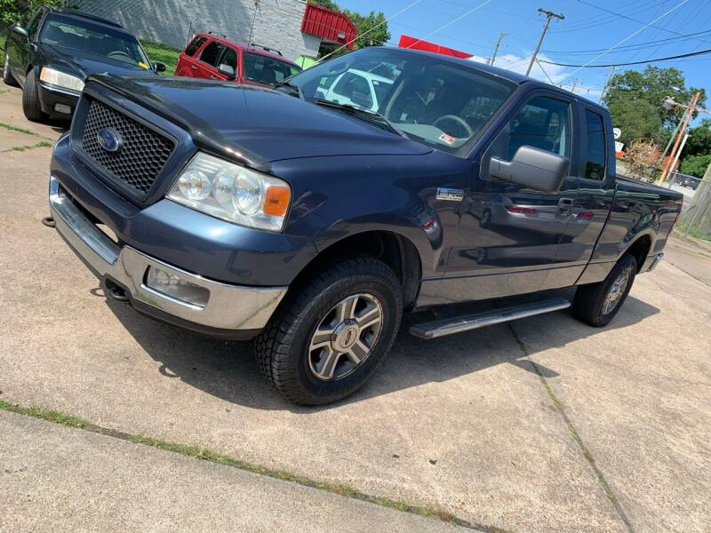 2005 Ford F-150 for sale at Whites Auto Sales in Portsmouth VA