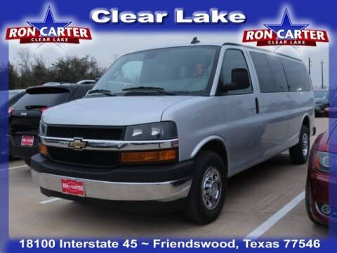 2019 Chevrolet Express Passenger for sale at Ron Carter  Clear Lake Used Cars in Houston TX