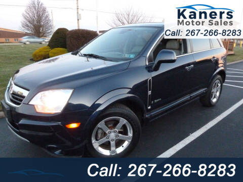 2008 Saturn Vue for sale at Kaners Motor Sales in Huntingdon Valley PA