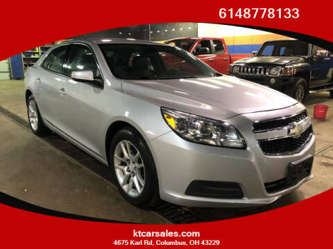 2013 Chevrolet Malibu for sale at K & T CAR SALES INC in Columbus OH