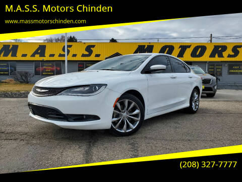 2016 Chrysler 200 for sale at M.A.S.S. Motors Chinden in Garden City ID
