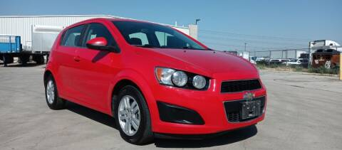2015 Chevrolet Sonic for sale at AUTOMOTIVE SOLUTIONS in Salt Lake City UT