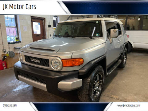 2008 Toyota FJ Cruiser for sale at JK Motor Cars in Pittsburgh PA