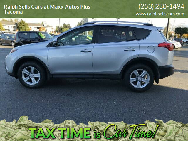 2014 Toyota RAV4 for sale at Ralph Sells Cars at Maxx Autos Plus Tacoma in Tacoma WA