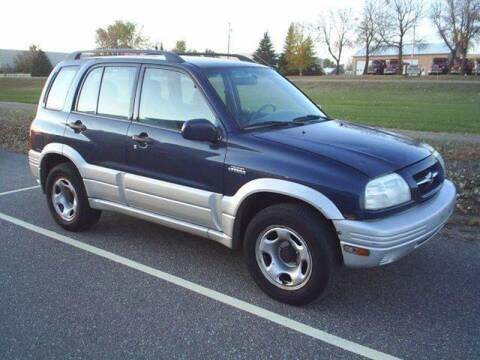 1999 Suzuki Grand Vitara for sale at Dales Auto Sales in Hutchinson MN