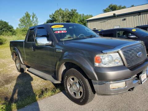 2004 Ford F-150 for sale at Reliable Cars Sales in Michigan City IN