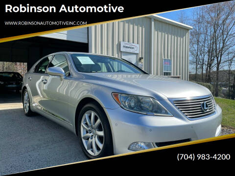 2008 Lexus LS 460 for sale at Robinson Automotive in Albemarle NC