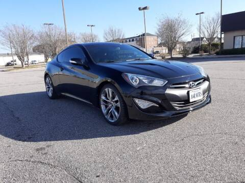 2013 Hyundai Genesis Coupe for sale at A&R MOTORS in Portsmouth VA