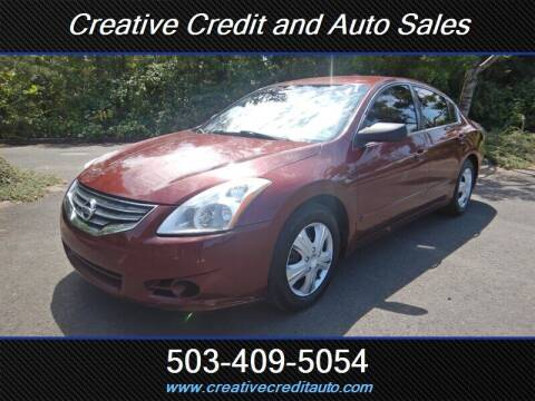2010 Nissan Altima for sale at Creative Credit & Auto Sales in Salem OR