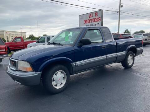 1999 GMC Sonoma for sale at Ace Motors in Saint Charles MO