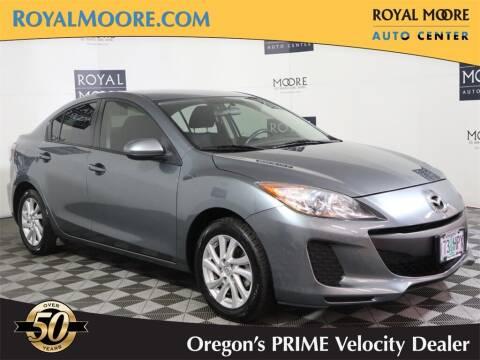 2012 Mazda MAZDA3 for sale at Royal Moore Custom Finance in Hillsboro OR