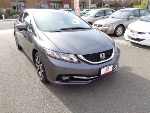 2014 Honda Civic for sale at NorCal Auto Mart in Vacaville CA