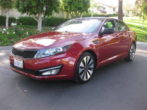 2011 Kia Optima for sale at E MOTORCARS in Fullerton CA