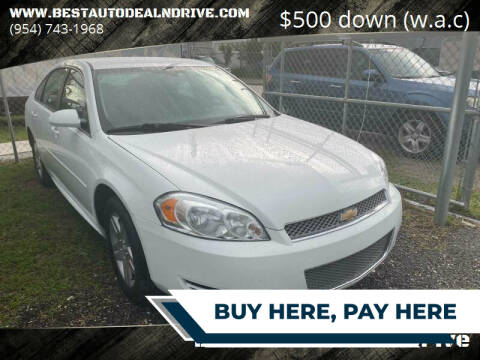 2016 Chevrolet Impala Limited for sale at Best Auto Deal N Drive in Hollywood FL