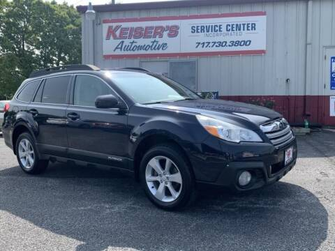 2013 Subaru Outback for sale at Keisers Automotive in Camp Hill PA
