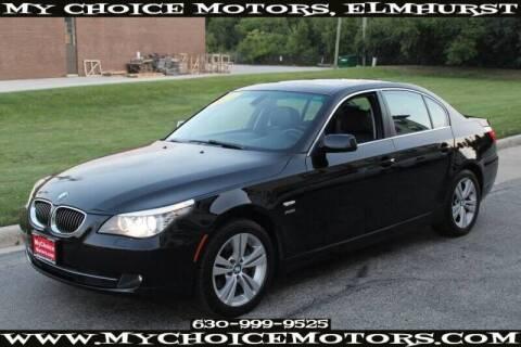 2009 BMW 5 Series for sale at My Choice Motors Elmhurst in Elmhurst IL