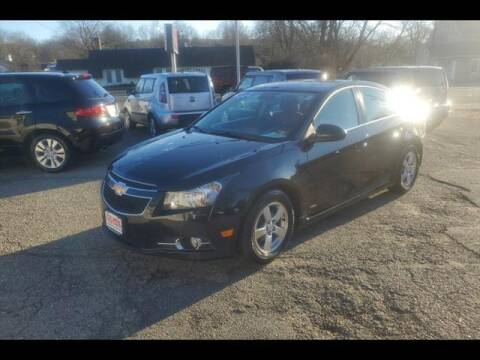 2014 Chevrolet Cruze for sale at Colonial Motors in Mine Hill NJ