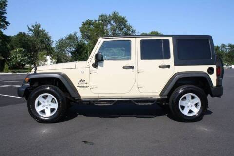 2012 Jeep Wrangler Unlimited for sale at CR Garland Auto Sales in Fredericksburg VA