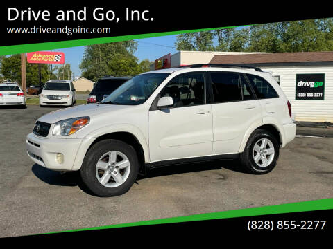 2005 Toyota RAV4 for sale at Drive and Go, Inc. in Hickory NC