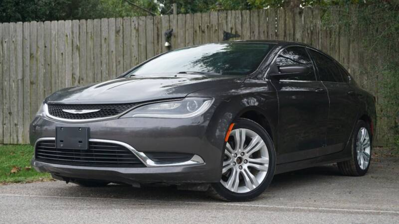 2015 Chrysler 200 for sale at Hidalgo Motors Co in Houston TX