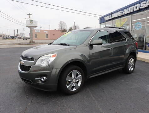 2013 Chevrolet Equinox for sale at Williams Auto Sales, LLC in Cookeville TN