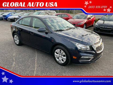 2015 Chevrolet Cruze for sale at GLOBAL AUTO USA in Saint Paul MN