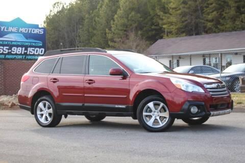 2014 Subaru Outback for sale at Skyline Motors in Louisville TN