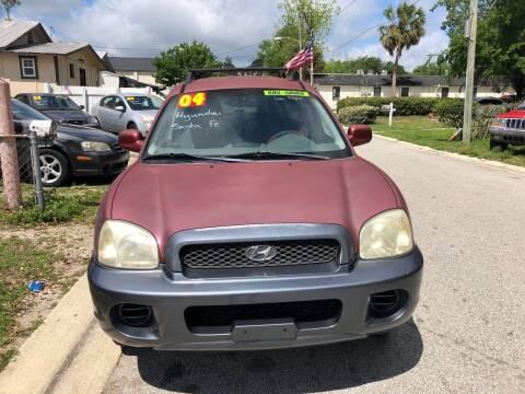 2004 Hyundai Santa Fe for sale at Castagna Auto Sales LLC in Saint Augustine FL