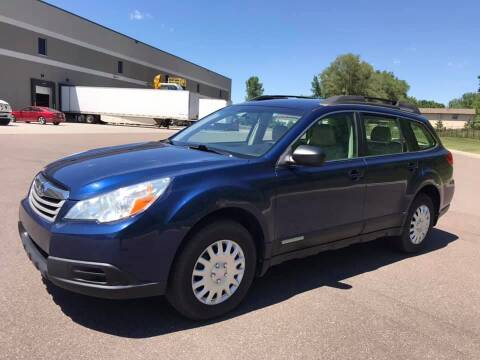 2011 Subaru Outback for sale at Angies Auto Sales LLC in Newport MN