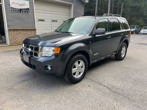 2008 Ford Escape for sale at Boot Jack Auto Sales in Ridgway PA