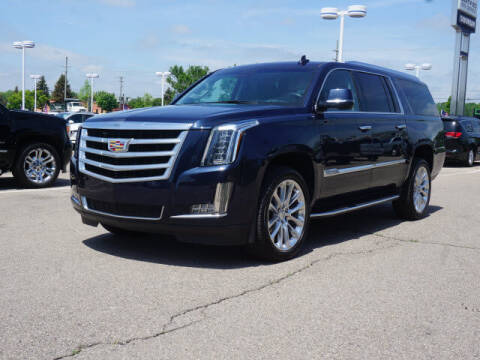 2019 Cadillac Escalade ESV for sale at Suburban Chevrolet of Ann Arbor in Ann Arbor MI