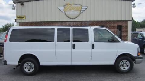 2013 Chevrolet Express Passenger for sale at Vans Of Great Bridge in Chesapeake VA