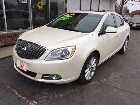 2012 Buick Verano for sale at NICKEL CITY AUTO SALES in Lockport NY