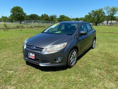 2012 Ford Focus for sale at LA PULGA DE AUTOS in Dallas TX