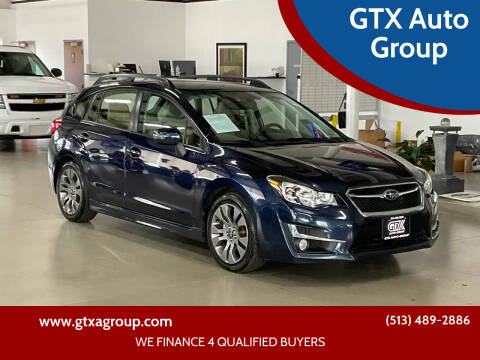 2016 Subaru Impreza for sale at GTX Auto Group in West Chester OH