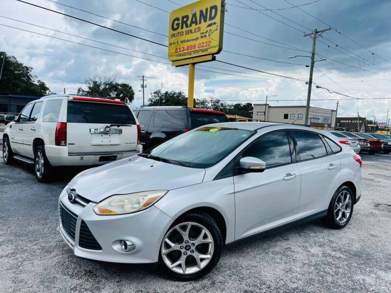 2013 Ford Focus for sale at Grand Auto Sales in Tampa FL