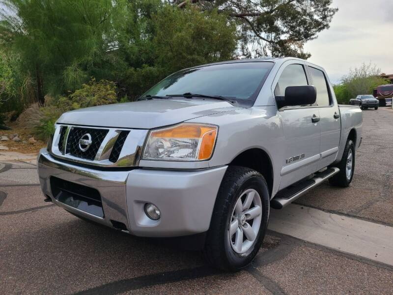 2013 Nissan Titan for sale at BUY RIGHT AUTO SALES in Phoenix AZ