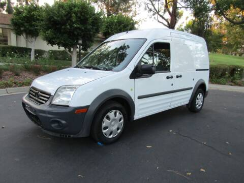 2012 Ford Transit Connect for sale at E MOTORCARS in Fullerton CA