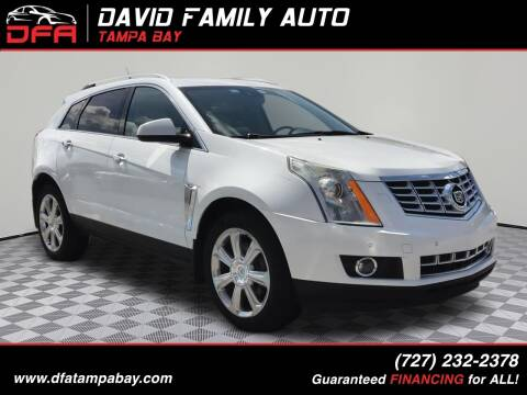 2014 Cadillac SRX for sale at David Family Auto, Inc. in New Port Richey FL