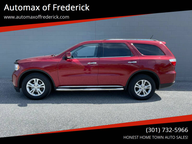 2013 Dodge Durango for sale at Automax of Frederick in Frederick MD