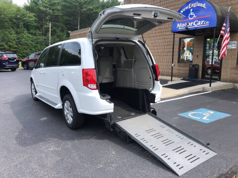 2014 Dodge Grand Caravan for sale at New England Motor Car Company in Hudson NH