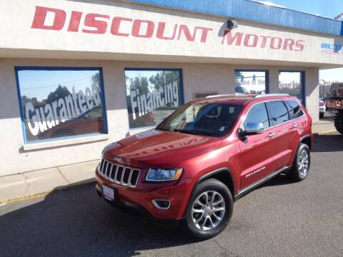 2015 Jeep Grand Cherokee for sale at Discount Motors in Pueblo CO